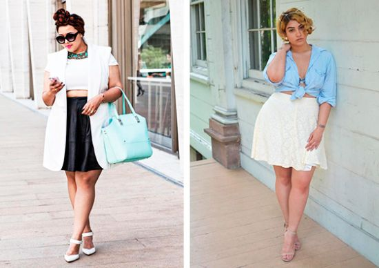 Moda Plus Size: Mostre a barriga e guarde a vergonha!