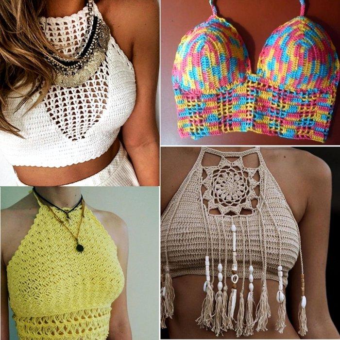 Top de crochê: veja como incluir essa peça nos looks de verão