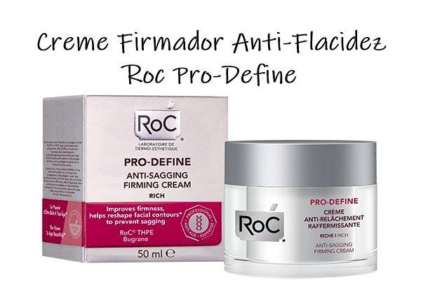 Cremes aliados contra a flacidez na pele - Creme Firmador Anti-Flacidez Roc Pro-Define