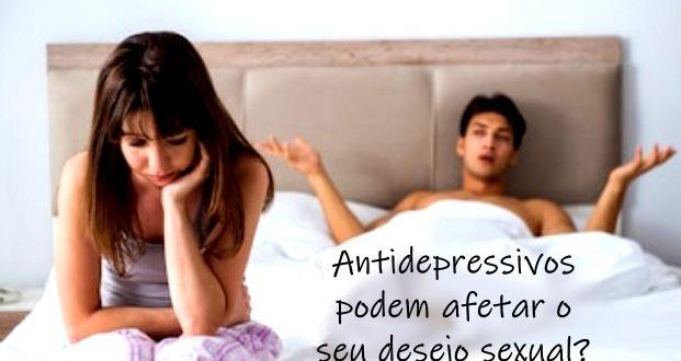 Por que Antidepressivos podem afetar o seu desejo sexual?